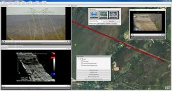 The LineVision Desktop. (Image: Remote Geosystems)