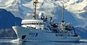 NOAA Ship Fairweather underway in Alaska. (Photo: NOAA)