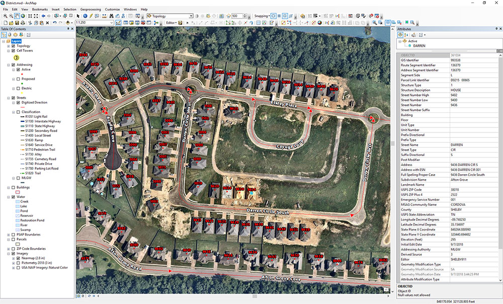 Nearmap aerial imagery in ArcMap. (Screenshot: Nearmap)