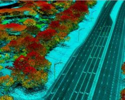 This digital elevation model (DEM) indicates the type of data currently being acquired across Florida. (Photo: Dewberry)
