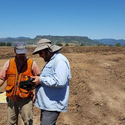 Oregon Department of Transportation workers use DT Research's GNSS rugged tablets. (Photo: DT Research).