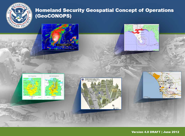 Cover of HSE GeoCONOPS resource book, v.4. (Image: Geoplatform.gov)