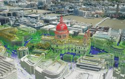 The Bluesky MetroVista range includes high-resolution imagery combined with high-accuracy, wide-scale 3D models. (Image: Bluesky)
