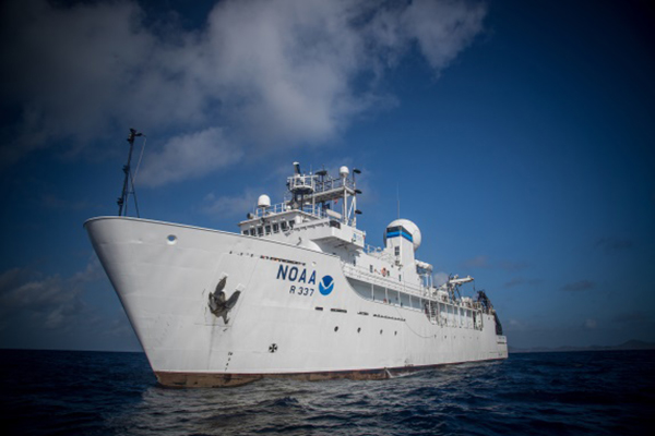 The NOAA ship Okeanos Explorer. (Photo: NOAA)