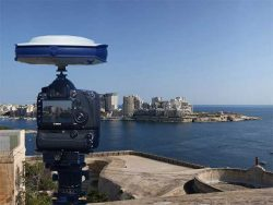 The SP80 at the UNESCO World Heritage site of Valletta, Malta. (Photo: Spectra Geospatial/MSE)