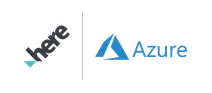 Logo: Azure and Here