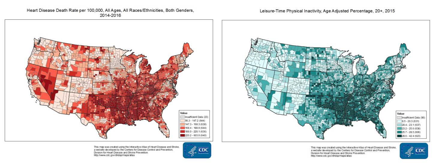 Maps: Centers for Disease Control and Prevention