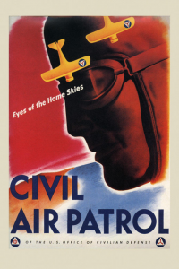 Eyes of the Home Skies, World War II-era poster of Civil Air Patrol. (Image: CAP)