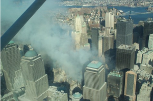Photo of Ground Zero taken on September 12, 2001 by Civil Air Patrol. (Photo: CAP)