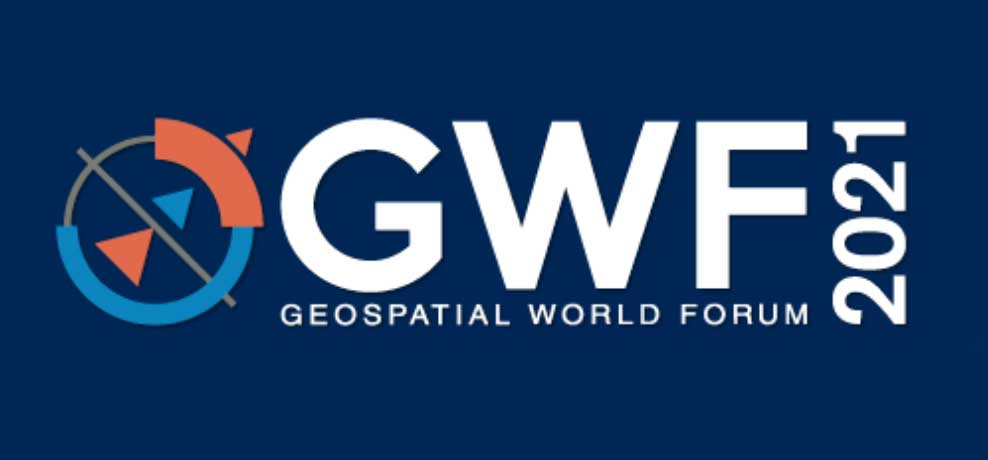 Logo: Geospatial World Forum 2021